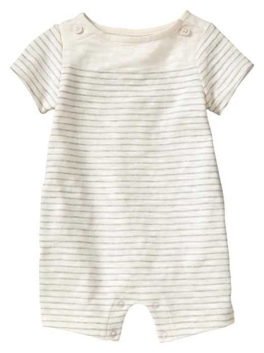 Gap | Thin striped button one-piece