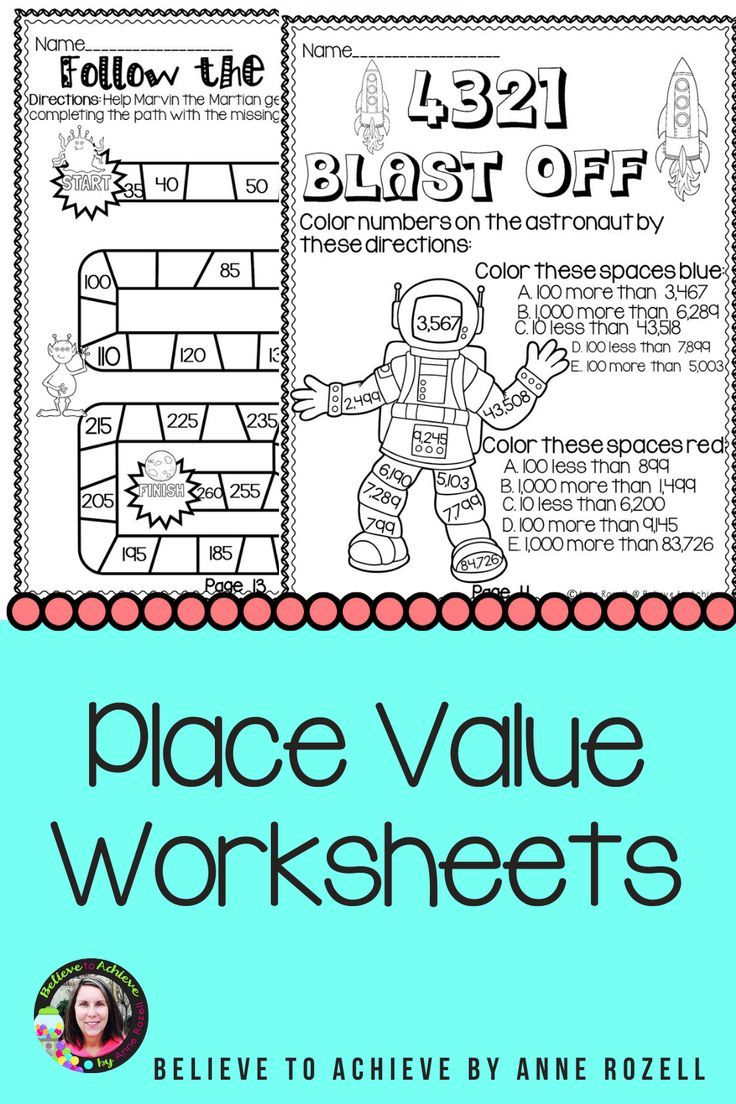Place Value To The Millions Worksheets Digital And Printable Place Values Practices Worksheets 3rd Grade Math [ 1104 x 736 Pixel ]