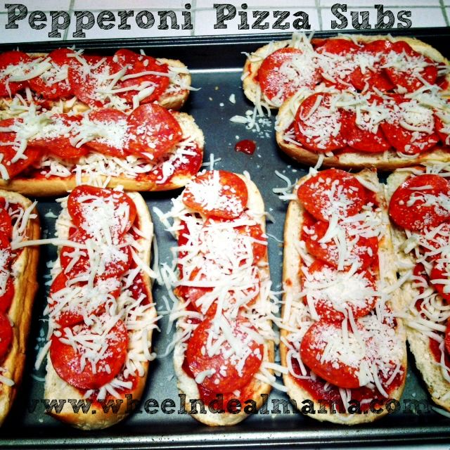 Pepperoni Pizza Subs