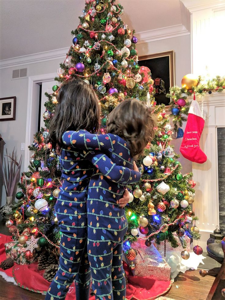 Matching Christmas PJs for kids