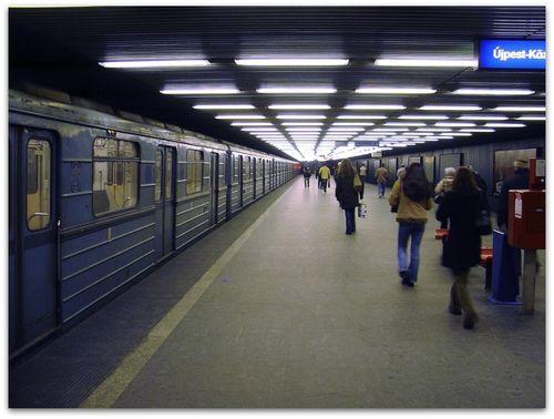 station budapest, metro line 3