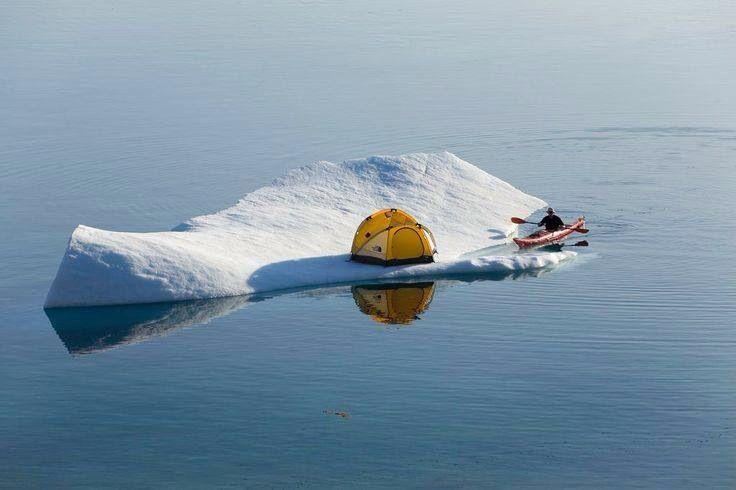 iceberg camping and kayaking ...                                                                                                                                                                                 Plus