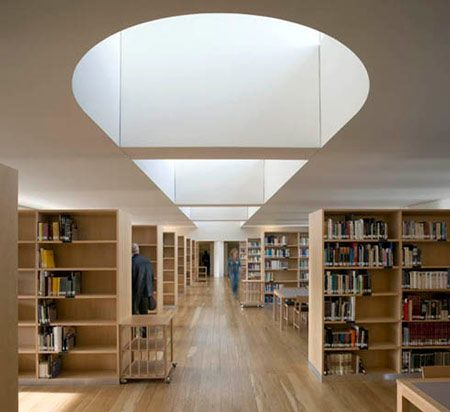 Duccio Malagamba Photographs Alvaro Siza Public Library