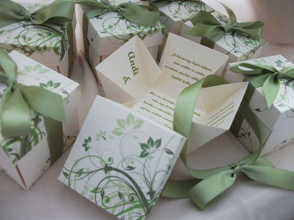 00001-Dobozos esküvői meghívó szalaggal átkötve - Dobozos esküvői meghívók - Esküvői meghívók - Webáruház - Esküvői meghívó, esküvői vendégkönyv, ültető és menükártya, köszönetajándék