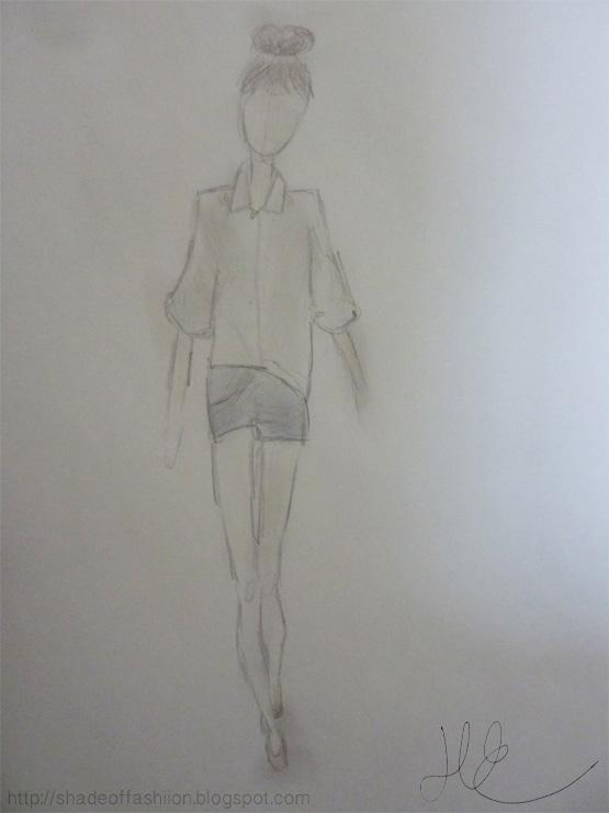 Shade of Fashiion - #drawing #art #fashion #pippamcmanus #blog