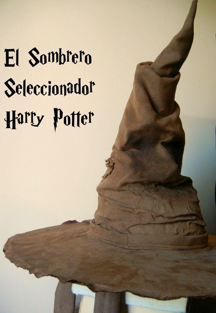 ¿Cómo hacer el sombrero seleccionador de Harry Potter?