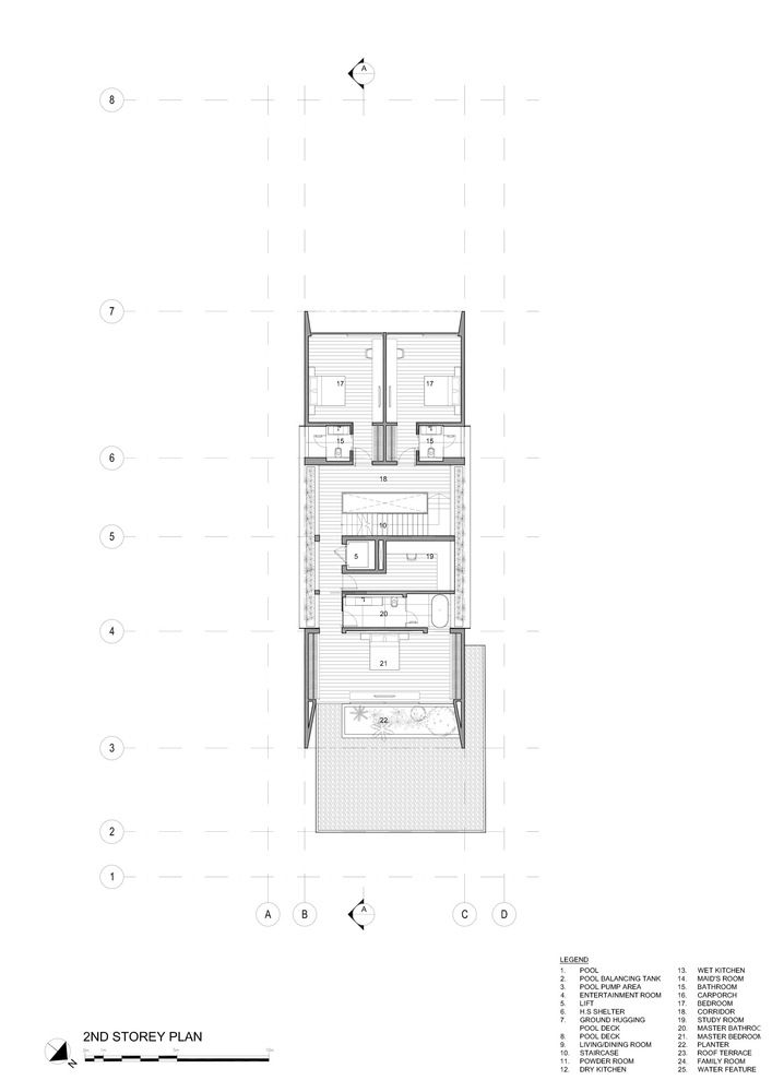 Gallery Of 37fc House Ong Ong Pte Ltd 24 Modern House Facades Indian House Plans House Floor Plans