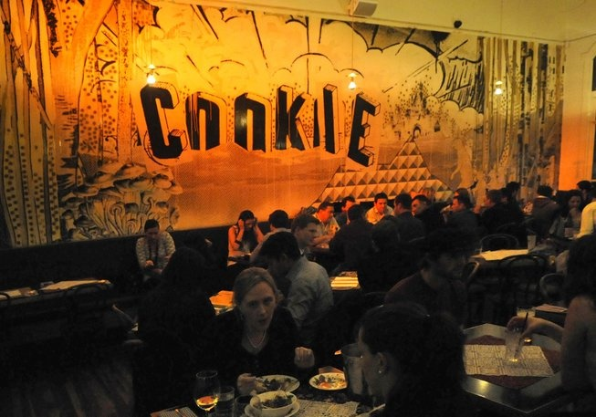Cookie - First Floor, Curtin House, 252 Swanston Street. You can't be in Melbourne long and not know Cookie. Thanks in part to its versatility, as well as its location smack in the middle of the city, this is one of Melbourne's most popular bars.