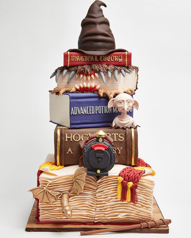Real Harry Potter Cake Made By Lulu Cake Boutique In New York