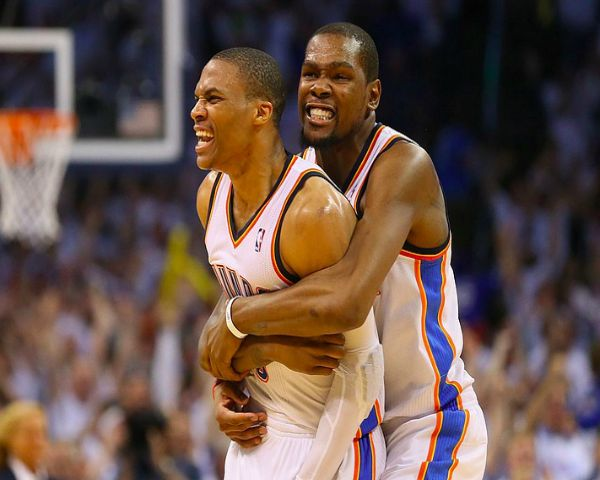 Kevin Durant News: Upset With Russell Westbrook Staying In Oklahoma City Thunder? - http://www.morningledger.com/kevin-durant-news-upset-with-russell-westbrook-staying-in-oklahoma-city-thunder/1390065/