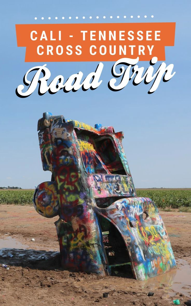 California to Tennessee cross country road trip! Click through for the full itinerary on Road Trippin' The States.