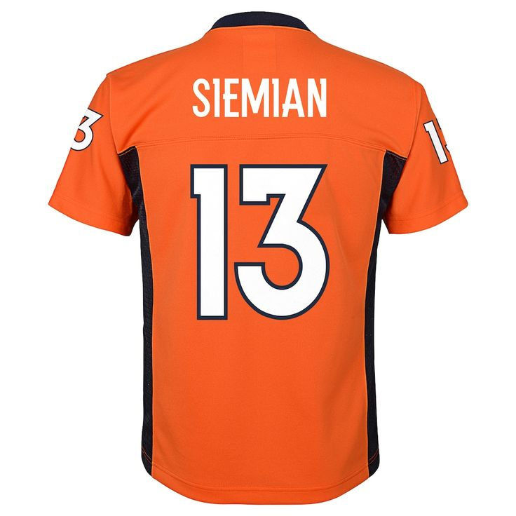 5e0801c55 ... Boys 8-20 Denver Broncos Trevor Siemian Mid-Tier Jersey