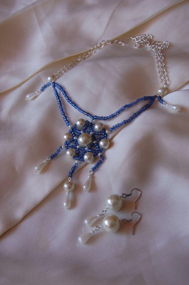 Snow Queen's Necklace by ArtemisHobby.deviantart.com on @DeviantArt