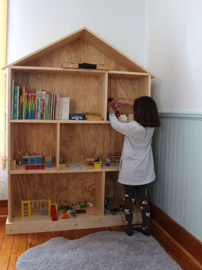 ideias para organizar os livros infantis