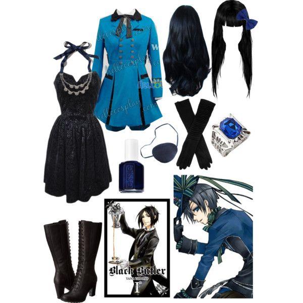"""Ciel Phantomhive (Black butler)"" by xcherry on Polyvore"