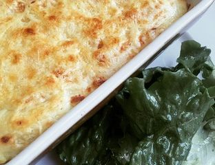 Hachis Parmentier de bœuf et salade  - #cuisine #recette #food #HachisParmentier