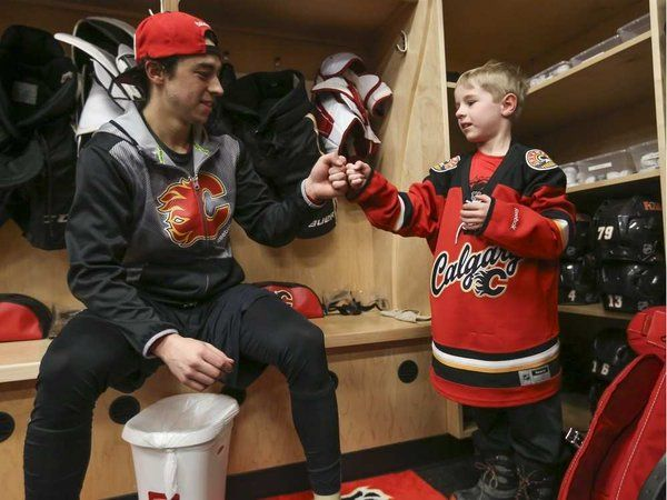 Haylen's Shop ‏@HaylensShop This picture melts my heart <3 Thank You @johngaudreau03 for taking the time to sit & chat with Haylen! @HaylensShop