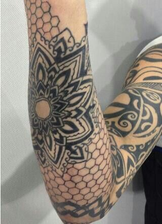 honeycomb tattoo - Google Search                              …