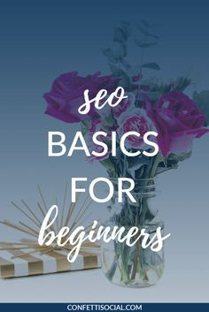 Today I'm sharing some SEO basics that you need to know so that you can properly optimize your website for search engines.