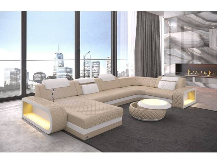 Sofa Dreams Wohnlandschaft Berlin U Form Gelb Ohne Bettfunktion Modern Sofa Designs Sofa Design Leather Sofa