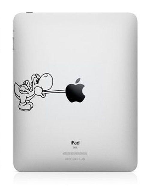 Naughty Yoshi Ipad Decal Mac Decal Macbook Decals