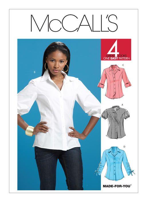 20 besten shirts & blouses to sew Bilder auf Pinterest | Hemdblusen ...