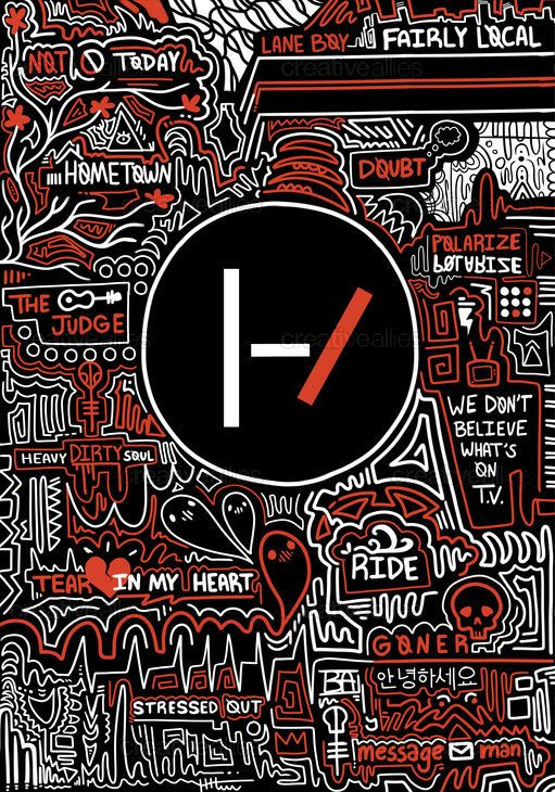 TWENTY ONE PILOTS Poster by Bailey on CreativeAllies.com
