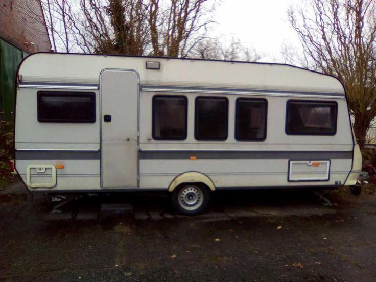 Wohnwagen Hobby Classic 520 TQM/1200 Kilo/Sommer und Wintervorzelt TÜV+Gasprüfun