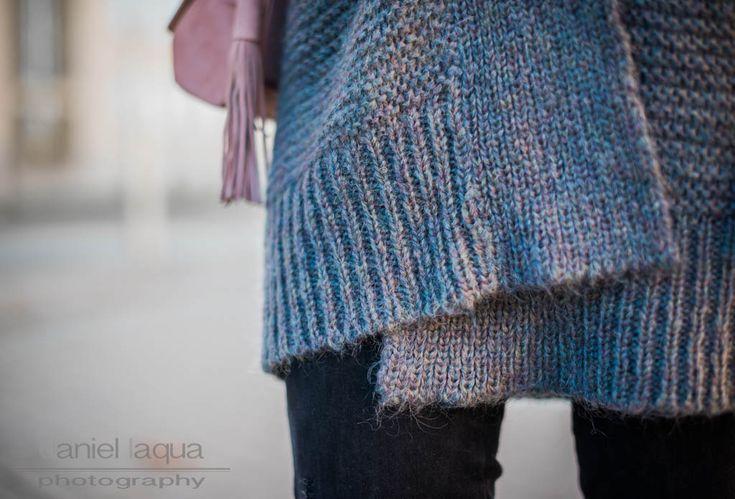 Outfit grauer Cardigan von Repeat Cashmere, Röhrenjeans und rosa Pumps von ZARA   Julies Dresscode   #ootd #fashionblogger #juliesdresscode #bigknit
