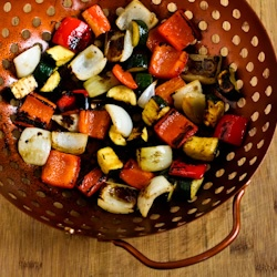 Kalyn's Kitchen: Recipe for World's Easiest Grilled Vegetables (How to Cook Vegetables on the Grill)
