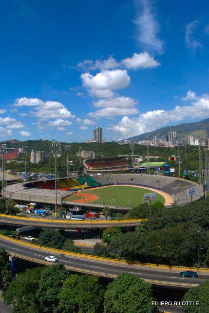 Estadios.Beisbol y futbol,Caracas,Venezuela.