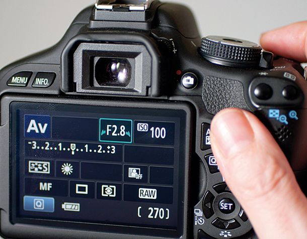 How to set up your camera to shoot macro photography with shallow depth of field: aperture