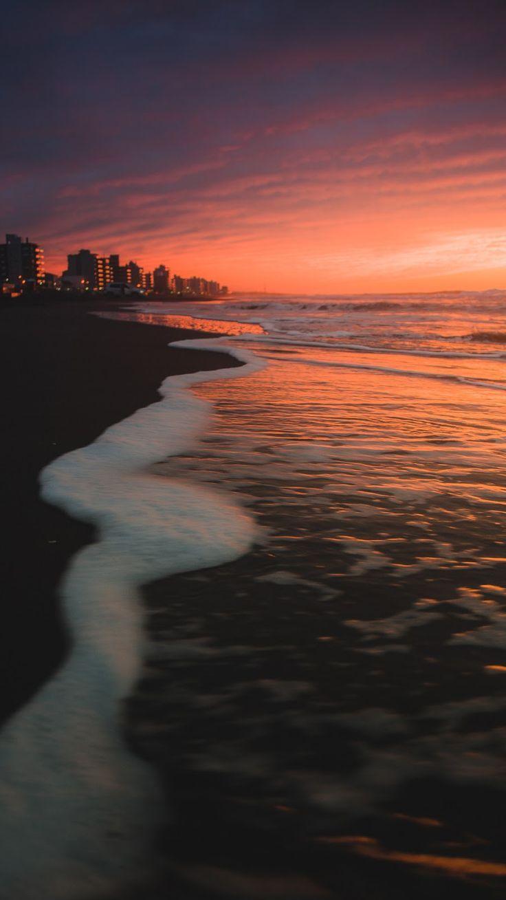 Sunset Aesthetic Beach Wallpaper Hd