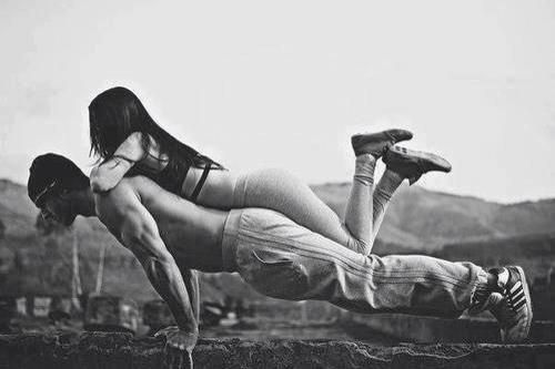 #girl #men #fitness #pump