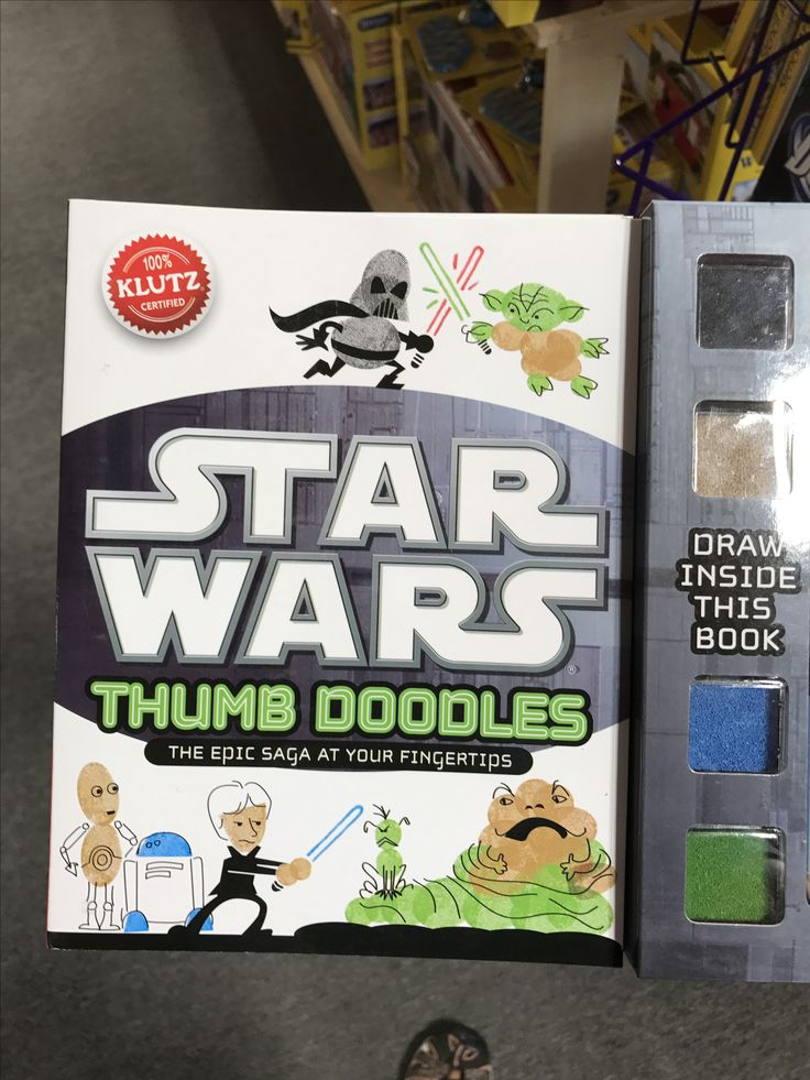 Learn to draw Star Wars characters using thumb prints. #starwars #kids #fun #diy #crafts #crafty #imaginationstation #imagination