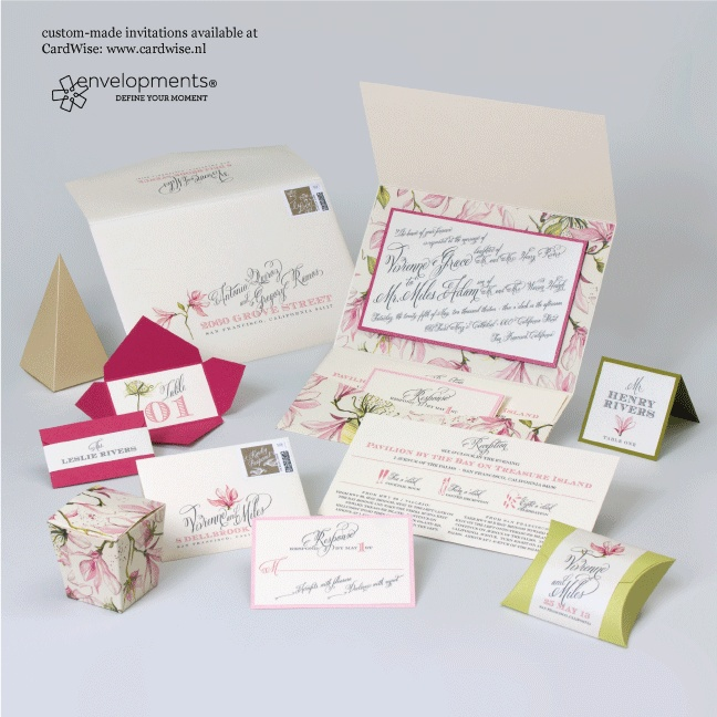 Envelopments wedding invite21 best Envelopments collection available   CardWise nl images on  . Envelopments Wedding Invitations. Home Design Ideas
