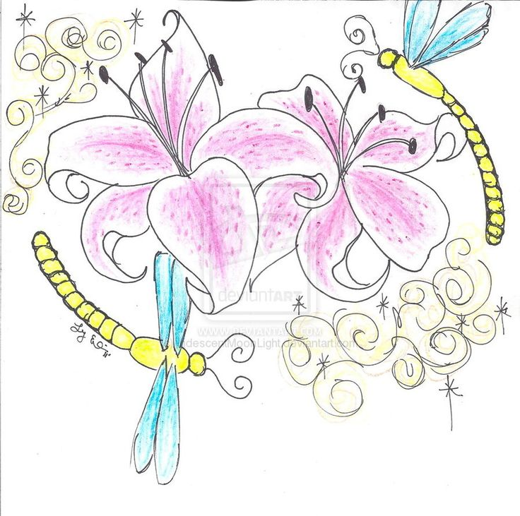 Lily Tattoos Designs And Ideas : Page 18