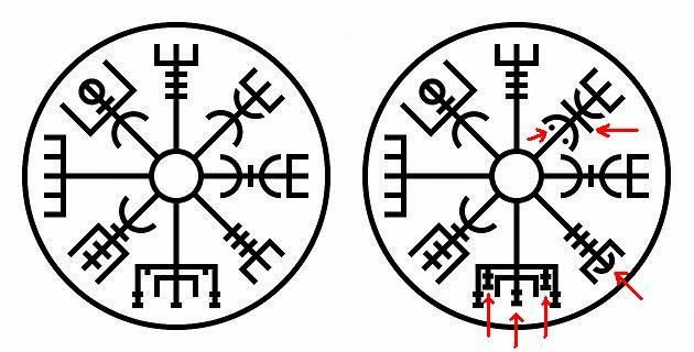 19 best images about Tattoo Vegvisir on Pinterest | Lost ...