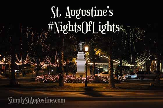 St. Augustine Nights of Lights 2014  There is always a lot happening in St. Augustine. Ramp it up 1,000 times and you have St. Augustine's Nights of Lights Festival- 2 months of 2 million Christmas lights, magical memories and a heckofalotta fun!! This year's dates are November 22, 2014 to January 31, 2015.
