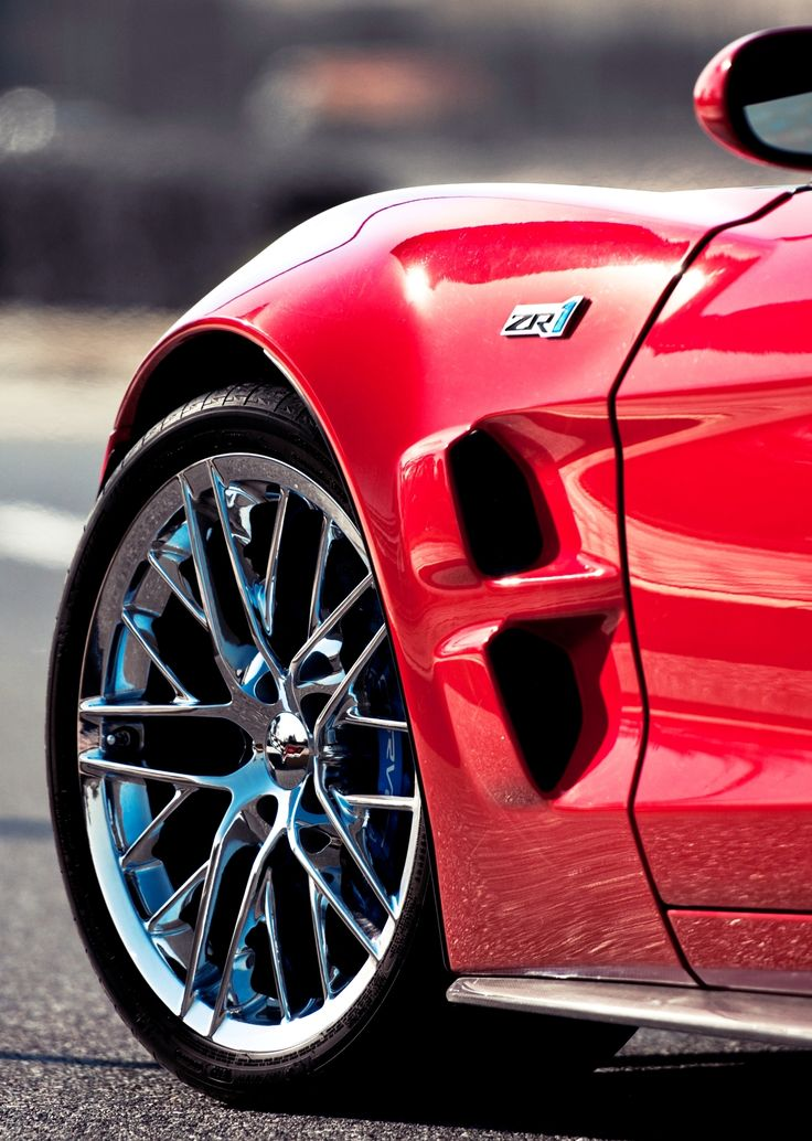 Great shot! You get a sense of awesome power lying in wait. Corvette ZR1