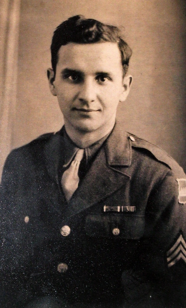 The first day former Sgt. Mike Lavick arrived in Normandy in September 1944 he wound up in a front line foxhole at Saint-Lo as a newly-minted member of Gen. George S. Patton's 3rd Army.