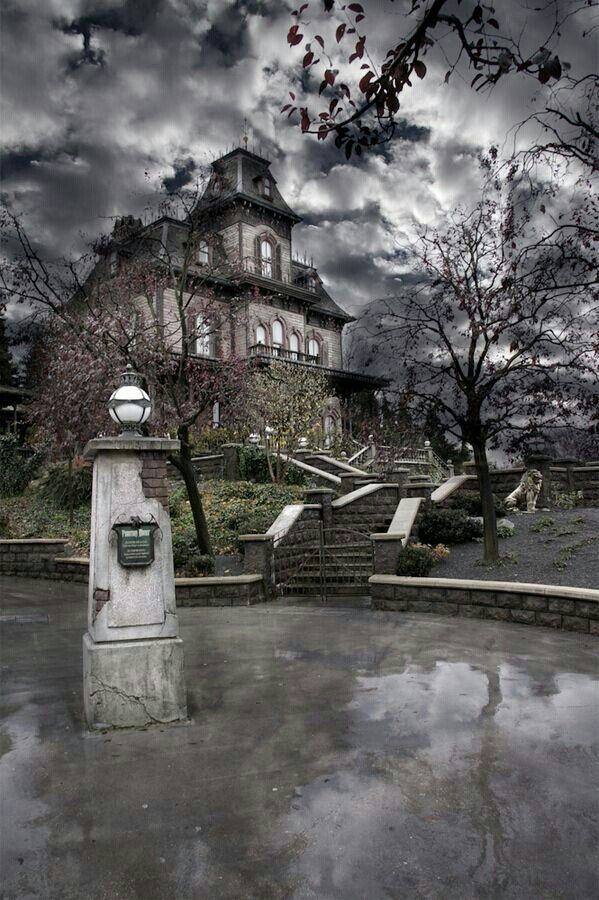 Phantom Manor, Disneyland Paris (Frontierland). Really nice....my daughter…