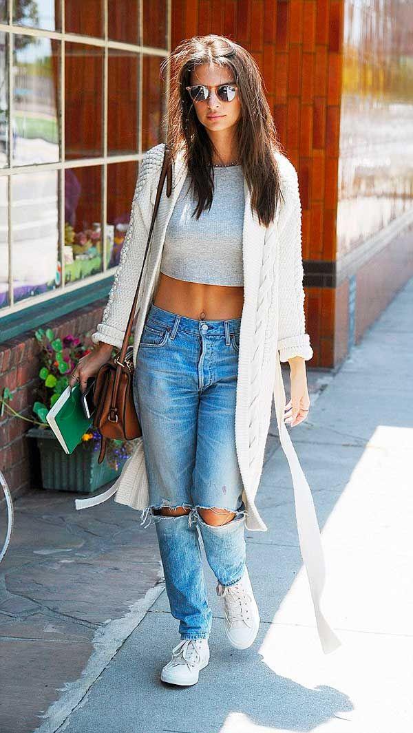 calça jeans cintura alta
