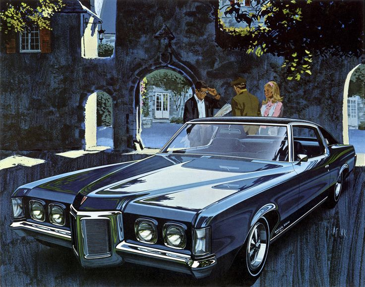 1969 Pontiac Gran Prix by Art Fitzpatrick and Van Kaufman