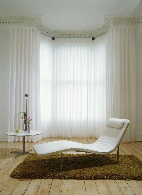 Best 25 Bay Window Pole Ideas On Pinterest Bay Window Curtains Bay Window Curtain Poles And