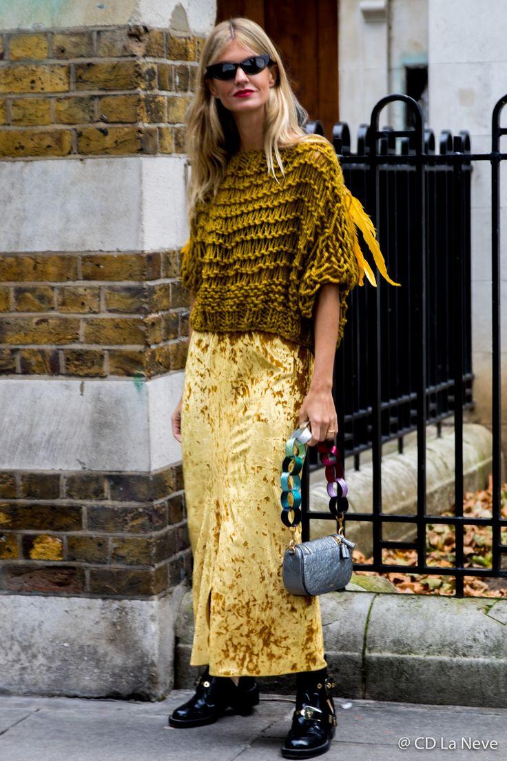 Anya Hindmarsh Street Style London Fashion Week LFW SS18
