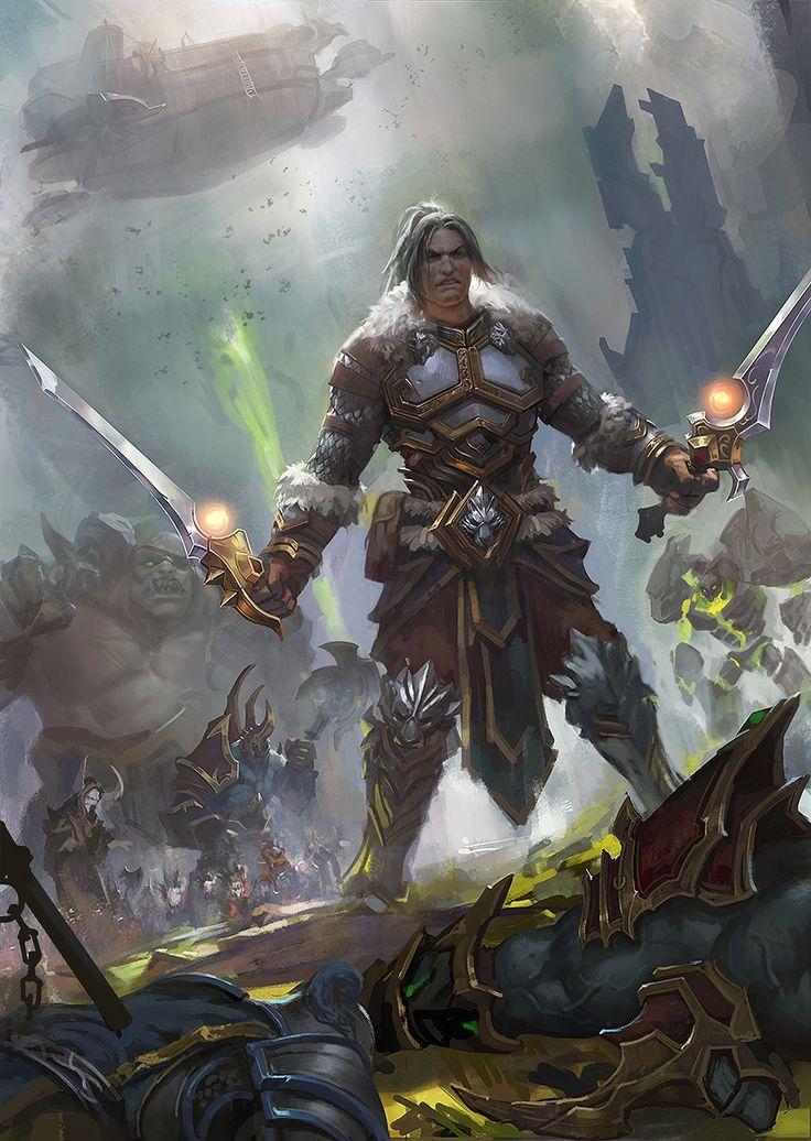 Varian Wrynn - World of Warcraft |  zippo514 on DeviantArt