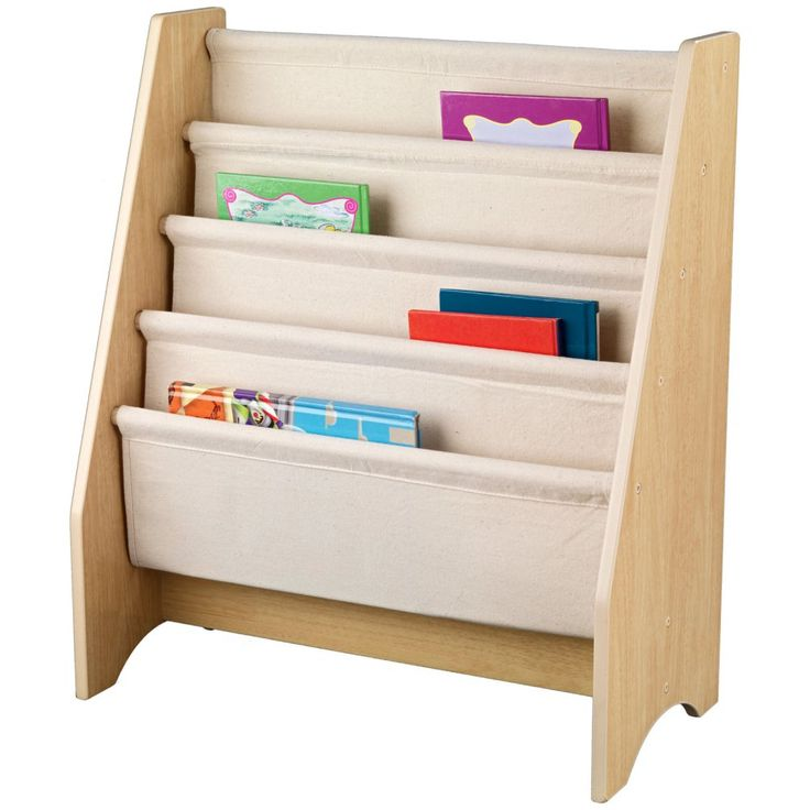 The 25 best book sling ideas on pinterest fabric bookshelf how kidkraft 4 shelf natural book sling bookshelf 14221 turn the bedroom into a solutioingenieria Choice Image