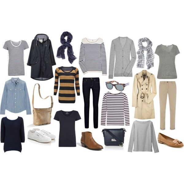 A fashion look from april 2013 featuring striped t shirt long cardigan and striped shirts