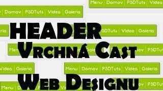 výroba web dizajn vo Photoshop slovensky - YouTube